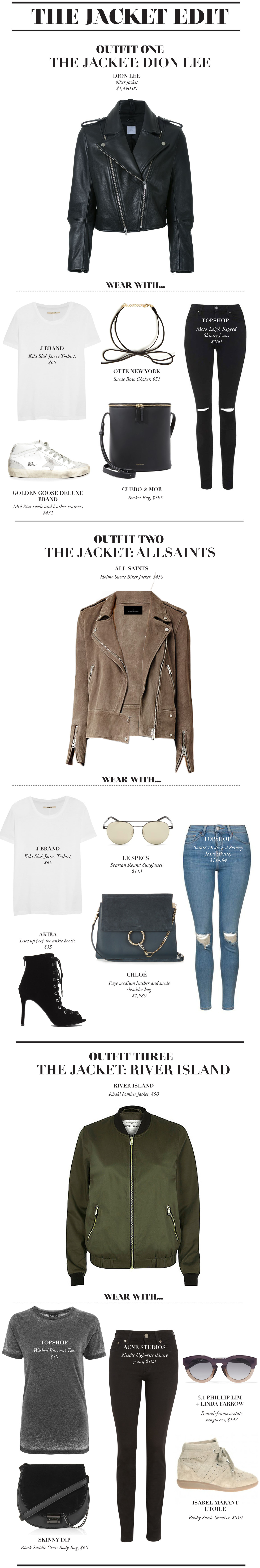"""Nothing haunts us more than the items we miss out on purchasing! Shop our """"Jacket hit list"""" available from Lyst that sells out in a blink of an eye, you better jump on quickly..."""