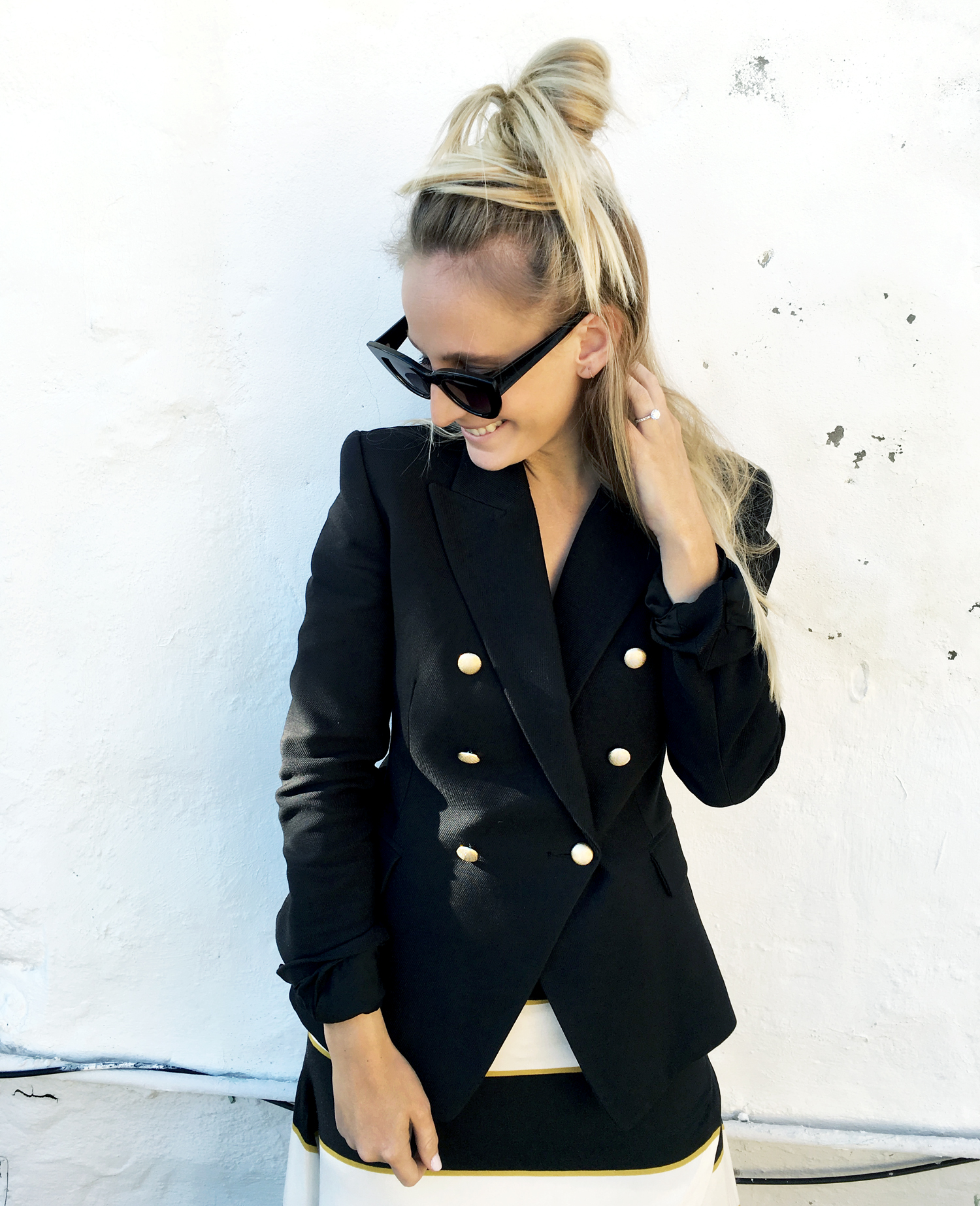 Hair, To knot, How to, Hairstyle, Blonde, Blogger, Fashion, Beaut
