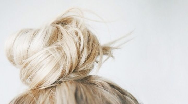 HOW TO: MASTER THE 'HALF' TOP-KNOT LOOK