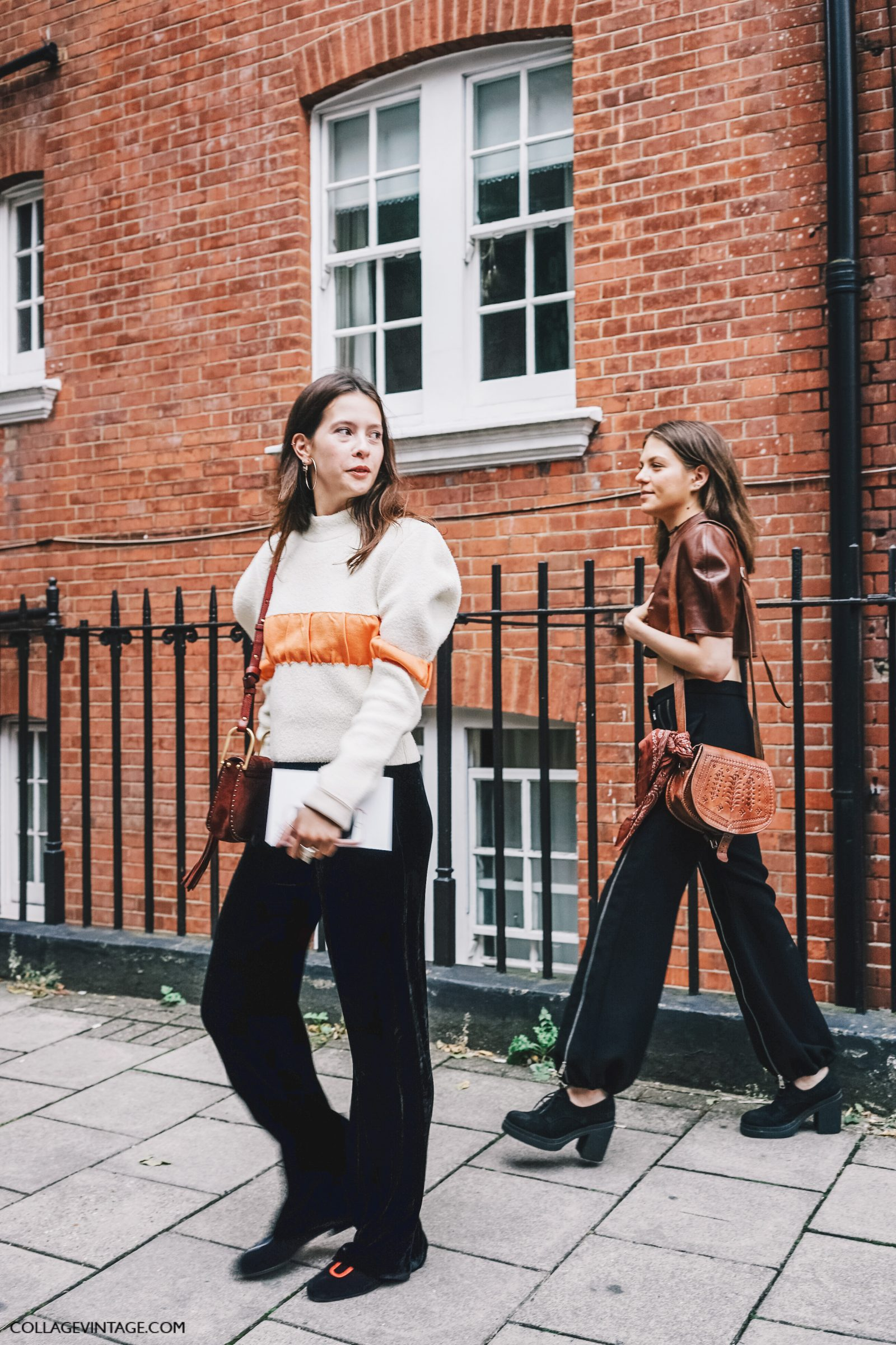 Lfw London Fashion Week Ss17 Street Style Outfits Collage