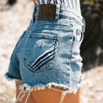 The People Vs Mum Shorts in Indigo