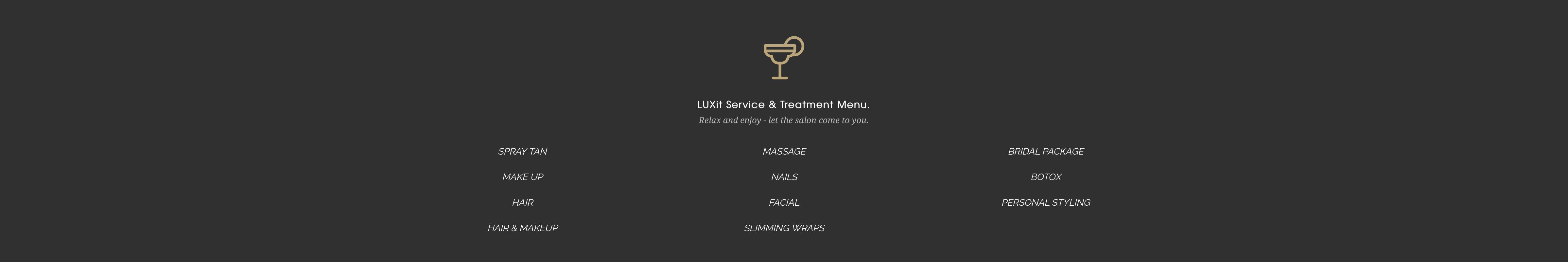 Fabiola, Luxit App, beauty services through app, The Vault Online