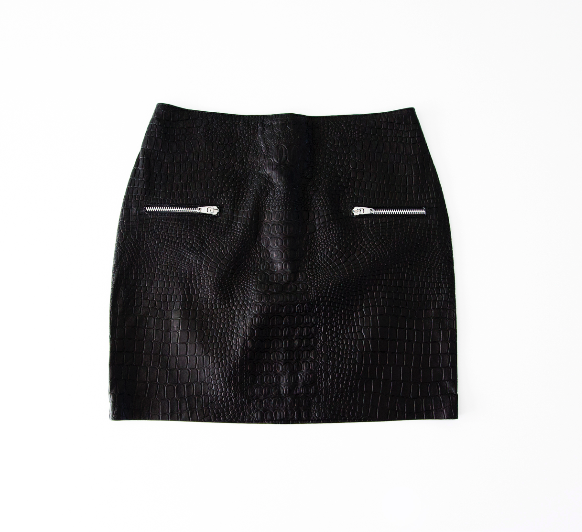 AM TO PM SKIRT BLACK