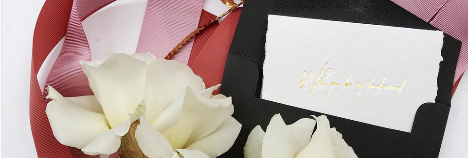 BRIDESMAID PROPOSALS. YEAH, IT'S A THING.